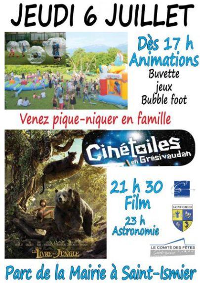 Cinetoiles Saint Ismier 2017