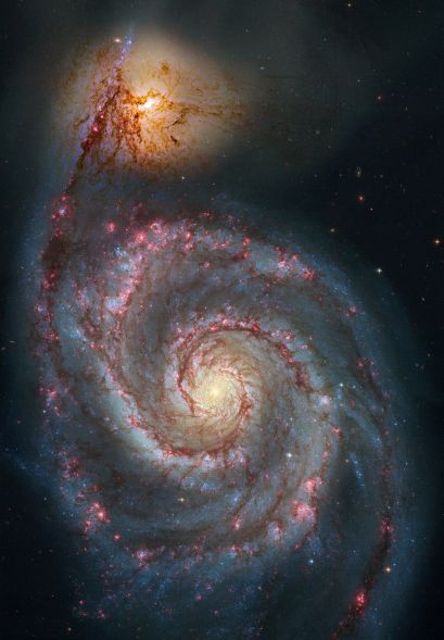 Galaxie du Tourbillon (Hubble)