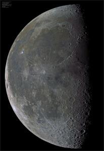 La Lune selon Dmitry Makolkin, Octobre 2015